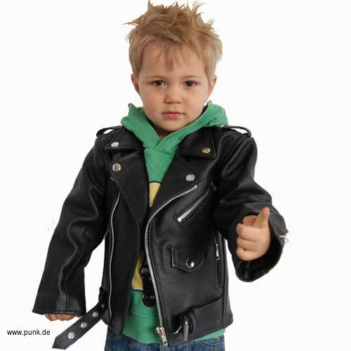 Lederjacke Johnny für Kids